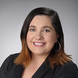 Portrait of Kelsey Woodford.